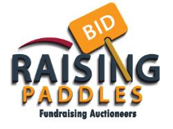 Raising Paddles, LLC. Logo