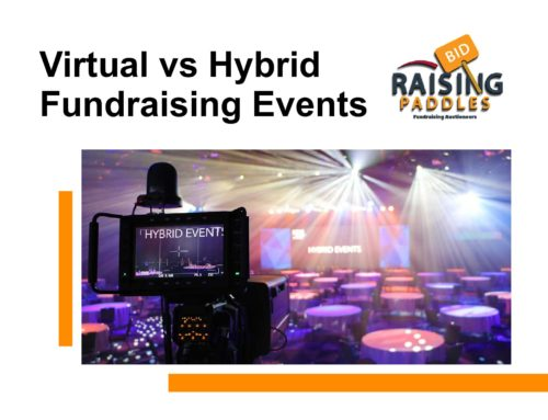 Virtual vs Hybrid Fundraising Events
