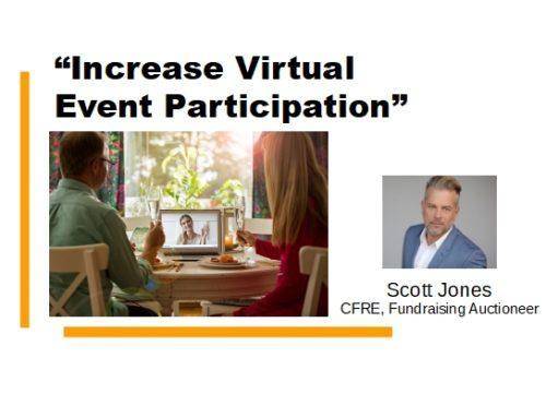 Increase Virtual Event Participation