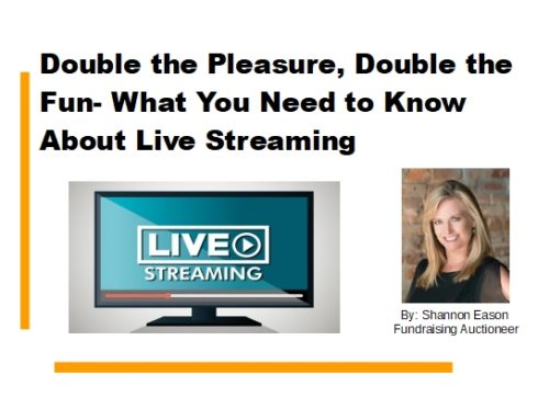 Double the Pleasure, Double the Fun- What You Need to Know About Live Streaming